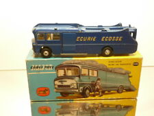CORGI TOYS 1126 ECURIE ECOSSE RACING CAR TRANSPORTER - BLUE -  VERY GOOD IN BOX