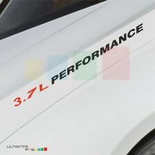 3.7L PERFORMANCE Decal badge for Jeep commander liberty Grand Cherokee grill 4wd