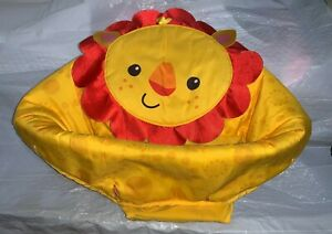 Fisher-Price Rainforest Friends Jumperoo Replacement Seat Cover ~ Lion