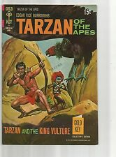 TARZAN OF THE APES #199 VF- VERY FINE- WHITE PAGES BRONZE AGE 1971 GOLD KEY