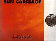 """SUN CARRIAGE a kiss to tell ep 12"""" PS EX+/EX+ WIJ 10 grunge indie stoner rock"""