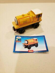 Thomas Train 99015 Wooden Railway Ben Character Card 2001