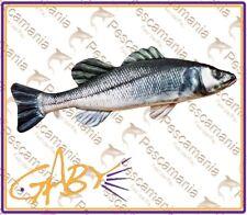 cuscino imitazione Spigola pesce idea regalo pesca pescatore cuscino Gaby 70cm