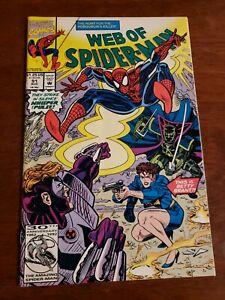 Web of Spider-Man #91 (Marvel 1992)  Alex Saviuk Art!