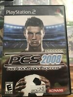 PRO EVOLUTION SOCCER 2008  (Sony PlayStation 2,Complete Includes Instructions)