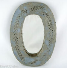 Vintage MIROIR Céramique Vallauris 50, Design 20th, mirror/derel/capron/lembo...