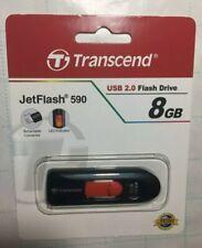 Lot Of 19 Transcend JetFlash 590 (8GB, Red) USB 2.0 Flash Drive / TS8GJF590K