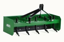 HAYES 4FT TRACTOR BOX BLADE SCRAPER GRADER WITH RIPPERS - 3 POINT LINKAGE
