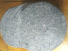 """PIGEON BOWL MATS  LINERS for NESTING BOWLS   9"""" DIAMETER   5 PADS"""