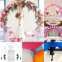 New Large Balloon Arch Set Column Stand Base Frame Birthday Wedding Party Decor