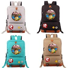 Luxurious Roblox Game Backpack School Bag Laptop Travel Camping Rucksack