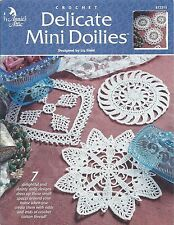 DELICATE MINI DOILIES 7 Designs Annie's Attic Patterns #872213 ~ Use Odds & Ends