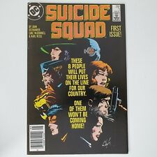 SUICIDE SQUAD #1, DEBUT 1987 DC SERIES (HIGH GRADE). Issue 1 (MOVIE SOON!)