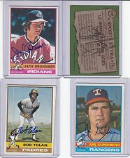 1976 Topps signed Rusty Staub Tigers  signed card w/COA