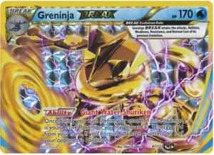 Greninja BREAK 41/122 Breakpoint Ultra Rare Holo Full Art Near Mint Pokemon Card