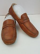 Sperry Top-Slider Loafer  Brown Leather Mens Size 10 M