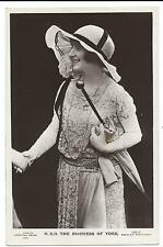 ROYALTY - The  DUCHESS of YORK  Beagles Real Photograph Postcard