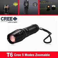 Adjustable UltraFire CREE XM-L T6 1800lm LED Zoomable Zoom Torch Flashligh W-878