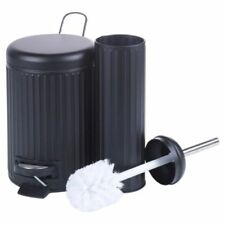 Cestos de almacenaje de color principal negro de metal para el hogar