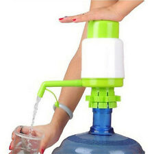 Hot 5 Gallon Bottled Drinking Water Hand Press Manual Pump Dispenser Gn
