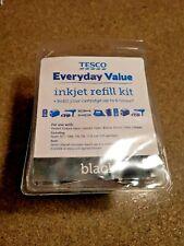 Tesco Black Inkjet Refill Kit, Up to 6 Times