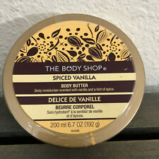 The Body Shop Spiced Vanilla Body Butter 6.7 oz Sealed New
