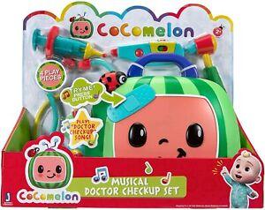 Cocomelon Musical Doctor Checkup Set Brandneu