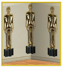 Awards Night Scene Setter Hollywood party wall BACKDROP Male Statuettes Oscar