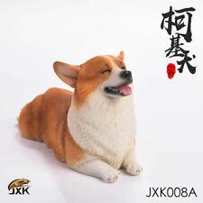 1/6 JxK Studio Jxk008A Corgi Pembroke Kneeling Dog Animal Action Figure