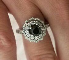 Black White Gold Diamond Engagement Rings eBay