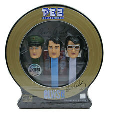 ELVIS PRESLEY PEZ SET OF 3 LIMITED EDITION TIN - WITH CD - RETIRED