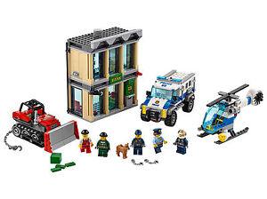 New Lego City 60140 Police Bulldozer Break-In 561 NO BOX