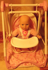 Cititoy 2001 Plush Baby and Swinging Seat