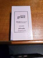 Philosophy Amazing Grace 4oz  EDT Spray, New, Sealed