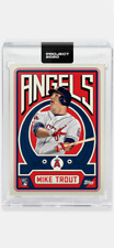 TOPPS PROJECT 2020 CARD 2011 TOPPS ANGELS MIKE TROUT #187 by GROTESK