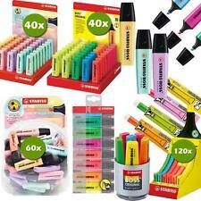 STABILO Textmarker BOSS ORIGINAL Farben Einzel, 4er,6er,8er,40er,60er,Nachfüll