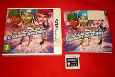 MONSTER HIGH IL CIRCUITO SCHELETRICO Nintendo 3Ds Italiano 1ª Ed. ○ USATO - D1