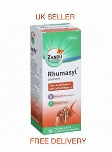Zandu RHUMASYL Liniment Oil 100ml  Ayurvedic for Joint & Muscle Pain + Free Ship