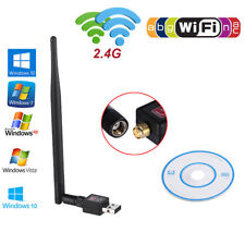 600Mbps USB Wireless WiFi Network Adapter 802.11n/g/b LAN Card Dongle w/Antenna