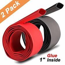 2 Pack 1 Inch 31 Waterproof Heat Shrink Tubing Kit Large Marine