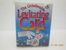 The Unbelievable Levitating Card Trick ~ Mini Maestro ~ Top Hat 2001