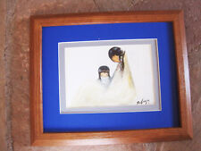 DeGrazia Navajo Mother Framed matted print