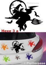 Hexe 3 a,Auto,Aufkleber,Autoaufkleber,Wandtattoo,Car Sticker,Pin,Halloween,LKW