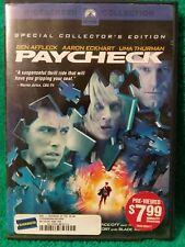 Paycheck Ben Affleck Uma Thurman 2004 DVD (a6)