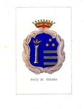 Araldica stemma araldico della famiglia Pocci di Viterbo
