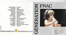 CD 16T FNAC FUGAIN/TOTO/CHEDID/BASIA/KASSAV'/DAVIS 1989