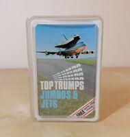 Vintage Top Trumps Jumbos & Jets (Rare) Card Game