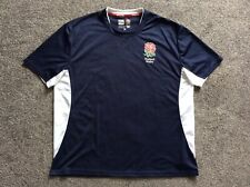 England Rugby Short Sleeved Crew Neck Polyester T-shirt  Size 2XL