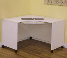 Arrow Cabinets Mod Corner Sewing Cabinet Table 2021 White