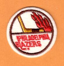 OLD HOCKEY 1970s WHA PHILADELPHIA BLAZERS 2 inch LOGO PATCH UNSOLD STOCK